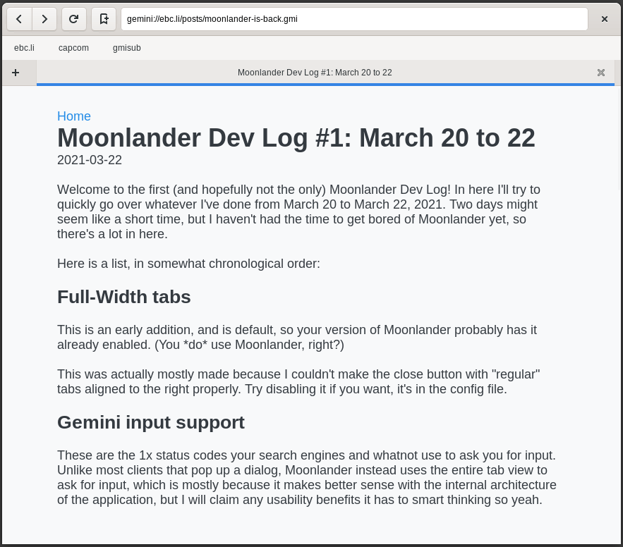 Moonlander Screenshot